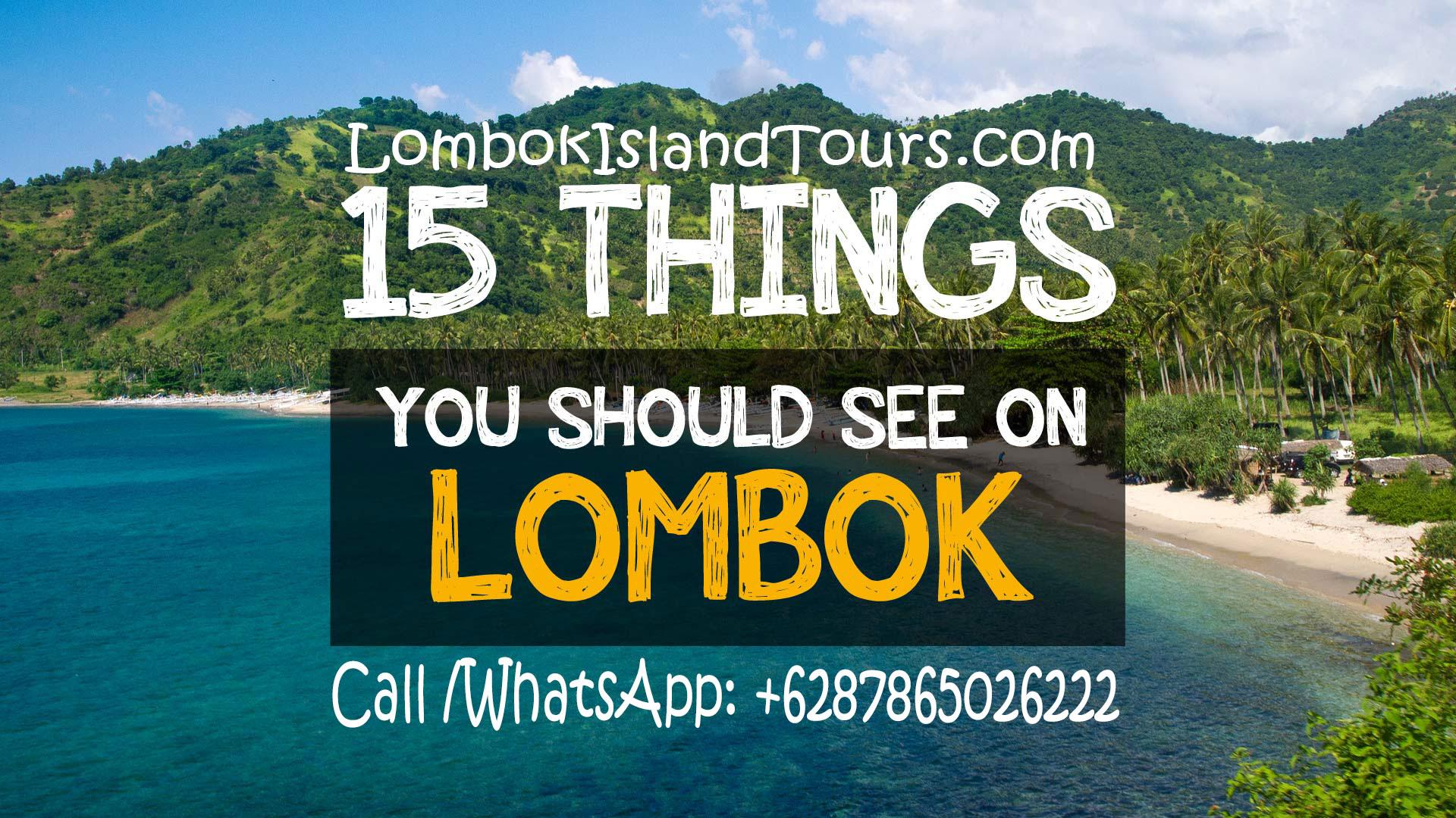 8 Tempat Wisata Terindah Di Pulau Lombok Discount Tour Paket Liburan Yang Merupakan Destinasi Paling Populer Provinsi Nusa Tenggara Barat Banyak Wisatawan Lokal Maupun Dari Mancanegara