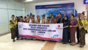 Lion air buka rute baru lombok - solo untuk tingkatkan pariwisata lombok