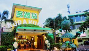 Tempat bermain anak anak di Kura Kura Theme Park Lombok - Mataram